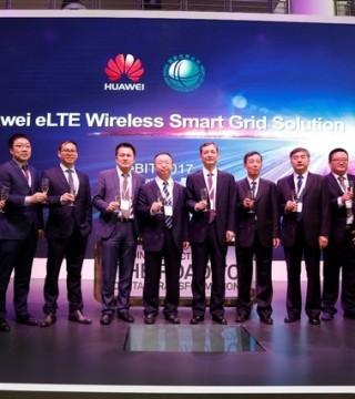 华为在CeBIT 发布4.5G无线智能电网解决方案