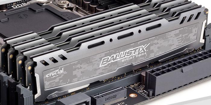 强势出击 英睿达DDR4 8G内存促销
