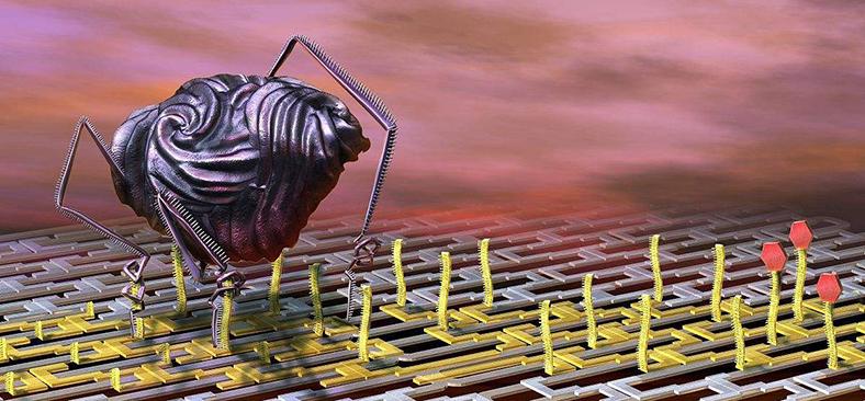 AI纳米机器人 未来20年帮助人体修复